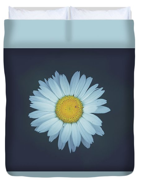 Duvet Cover featuring the photograph Daisy  by Shane Holsclaw