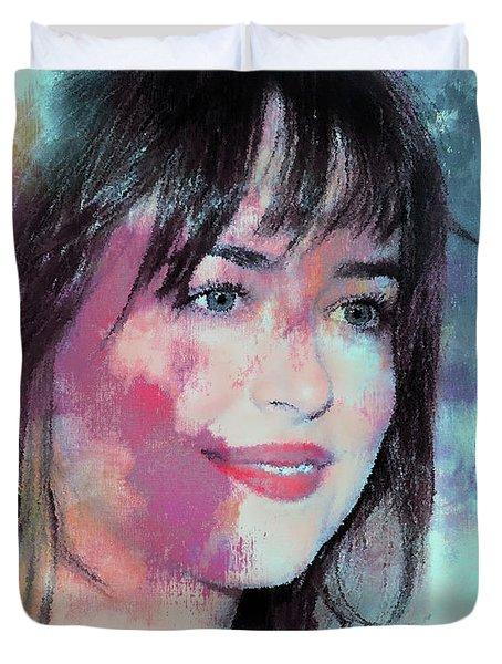 Dakota Johnson 45r Duvet Cover