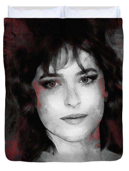 Dakota Johnson  Duvet Cover
