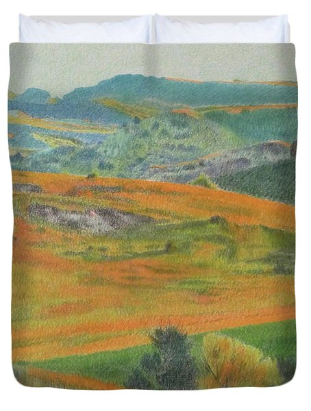 Dakota Prairie Dream Duvet Cover