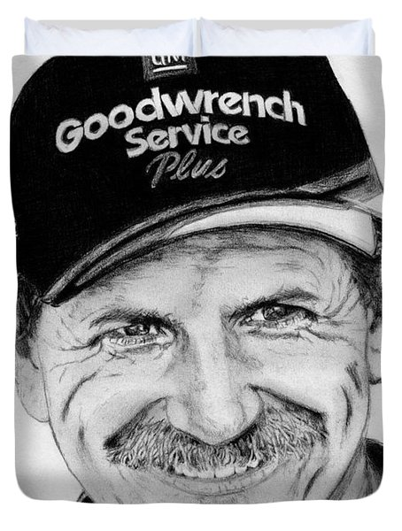 Dale Earnhardt Sr In 2001 Duvet Cover