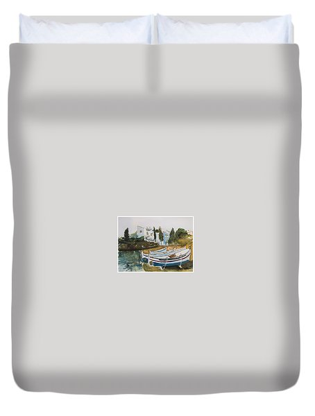 Dali House From Portlligat Duvet Cover by Manuela Constantin