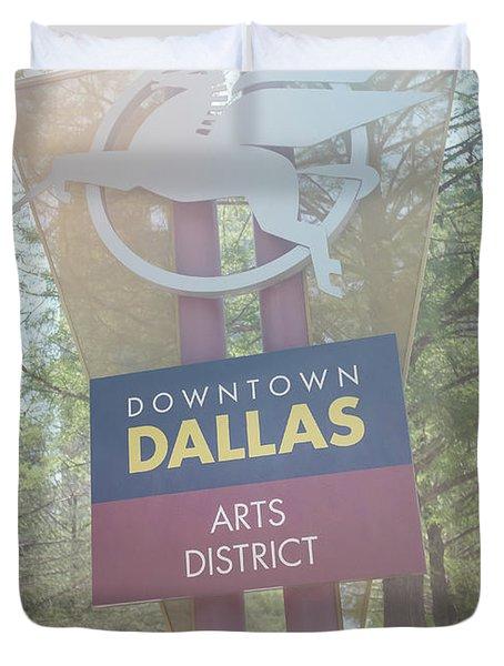 Dallas Arts District Duvet Cover