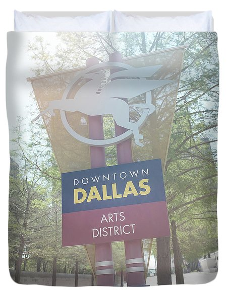 Dallas Arts District Duvet Cover