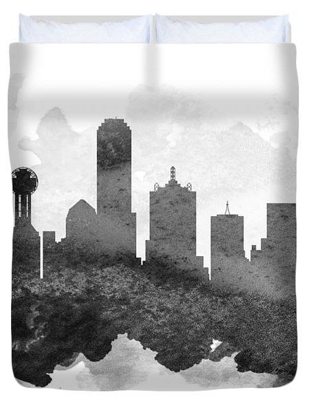 Dallas Cityscape 11 Duvet Cover