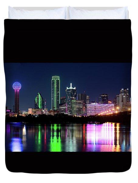 Dallas Colorful Night 52716 Duvet Cover