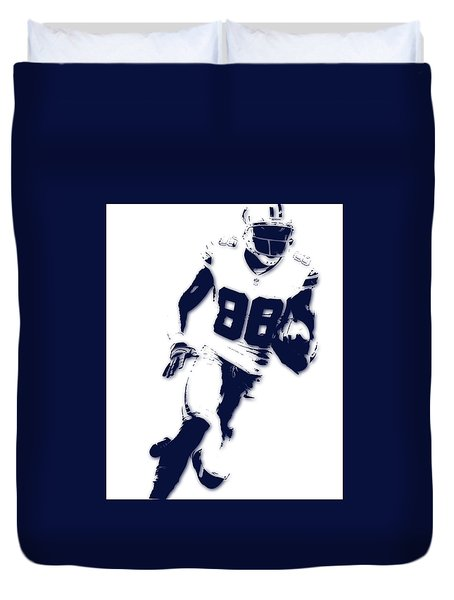 Dallas Cowboys Dez Bryant Duvet Cover