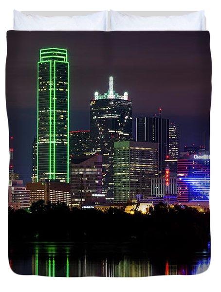 Dallas Cowboys Star Night Duvet Cover