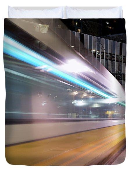 Dallas Dart Motion 012618 Duvet Cover