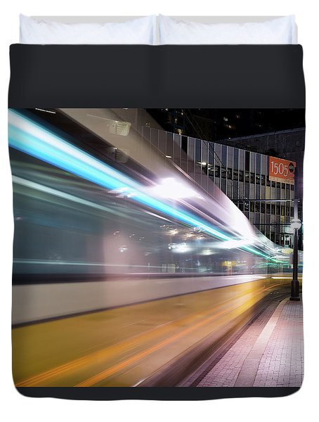 Dallas Dart Motion 012618 Duvet Cover