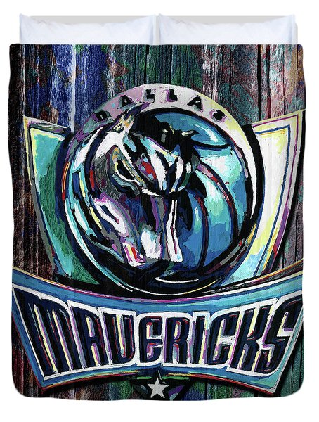Dallas Mavericks Duvet Cover