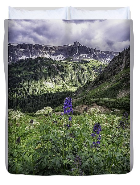 Dallas Peak Duvet Cover
