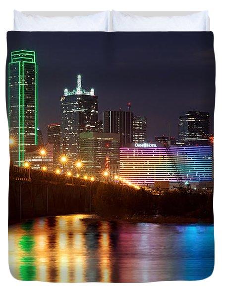 Dallas Reflections Duvet Cover