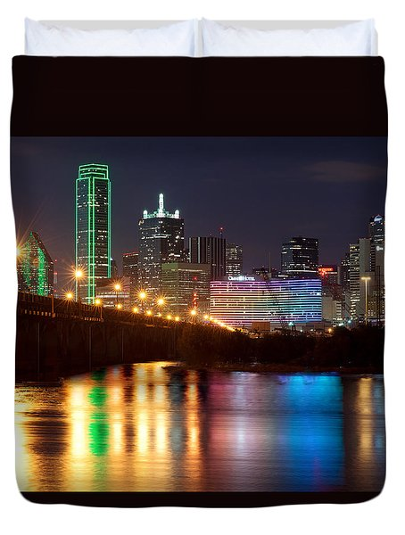 Dallas Reflections Duvet Cover