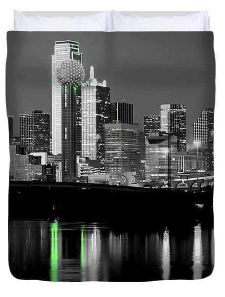 Dallas Skyline Gr91217 Duvet Cover