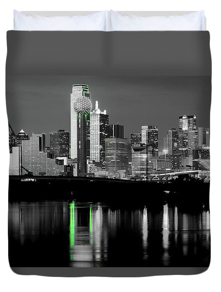Dallas Skyline Gr91217 Duvet Cover