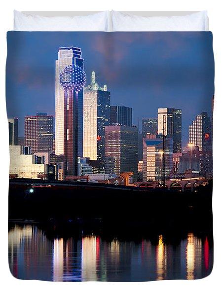 Dallas Skyline May 2015 Duvet Cover