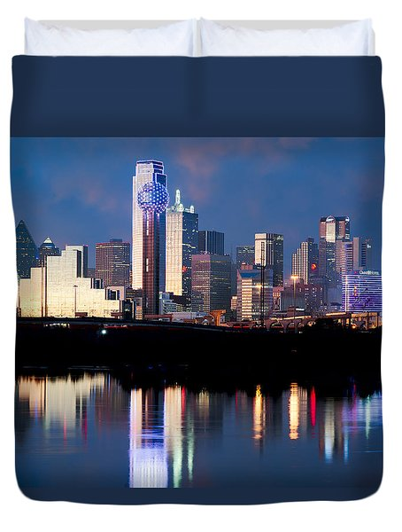 Dallas Skyline May 2015 Duvet Cover