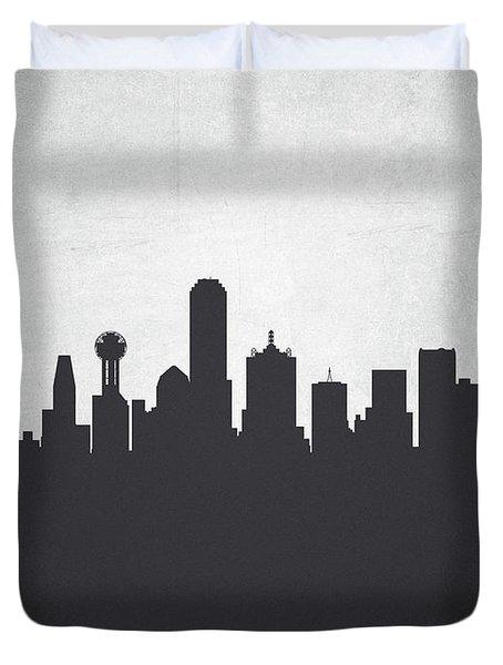 Dallas Texas Cityscape 19 Duvet Cover
