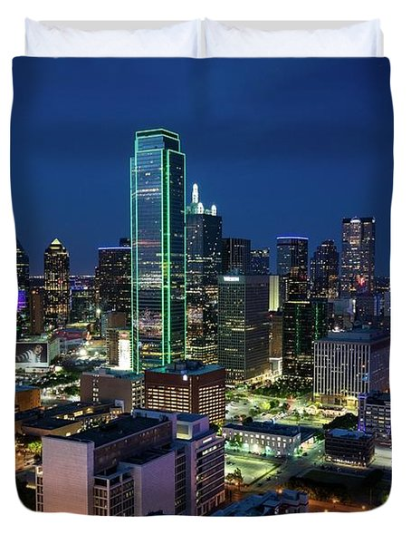 Dallas Vista  Duvet Cover