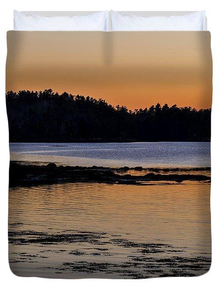 Damariscotta Twilight Duvet Cover