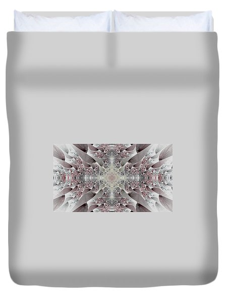 Damask Duvet Cover by Lea Wiggins