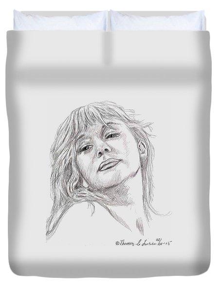 Dame Helen Mirren Duvet Cover