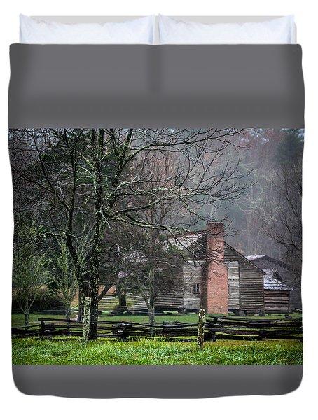 Dan Lawson's Cabin Duvet Cover