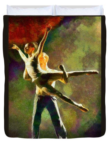 Dance 3 Duvet Cover
