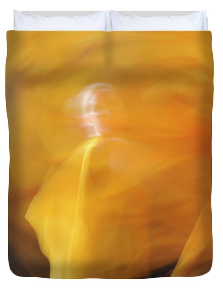 Dance Of Fire Duvet Cover