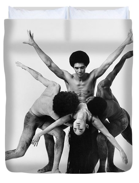 Dance: Alvin Ailey Duvet Cover