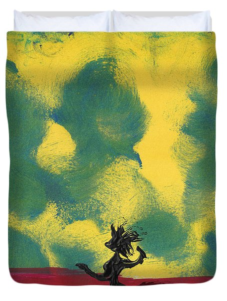 Dance Art Dancer Duvet Cover