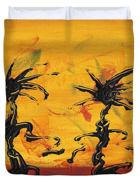 Dance Art Dancing Couple X Duvet Cover