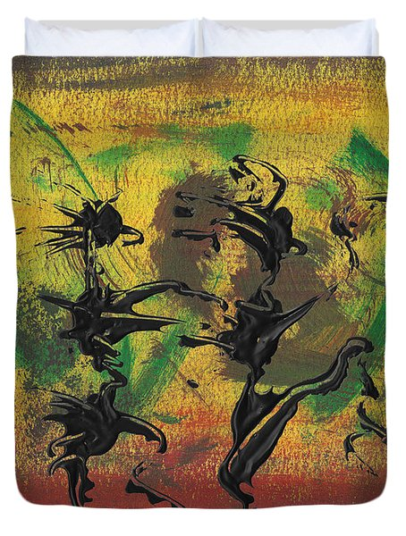 Dance Art Dancing Couple Xi Duvet Cover
