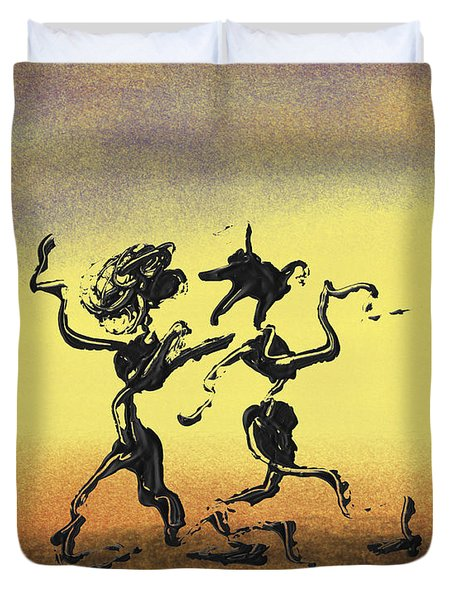 Dance I Duvet Cover