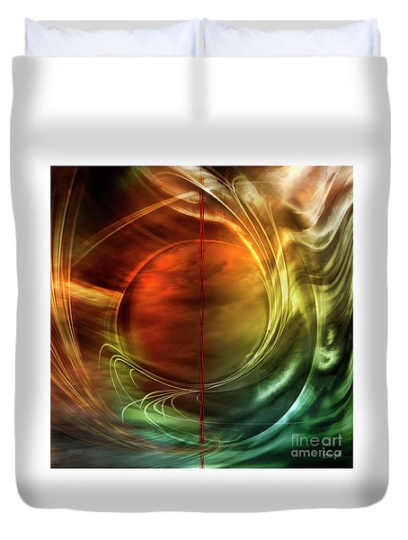 Dance In Color Symphony Duvet Cover