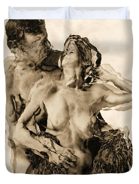 Dance Duvet Cover by Kurt Van Wagner