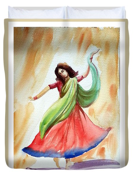 Dance Of Abandon Duvet Cover