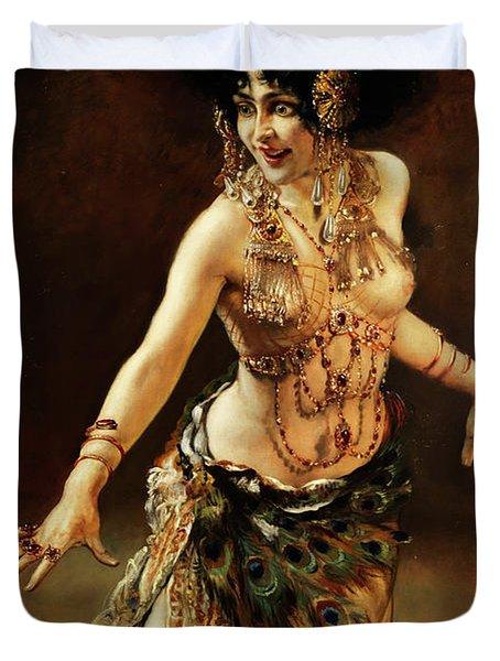 Dance Of Salome Duvet Cover