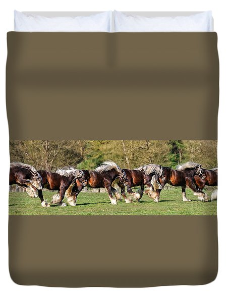 Dance Of The Gypsy Duvet Cover