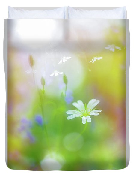 Dance Of The Nature Spirits Duvet Cover