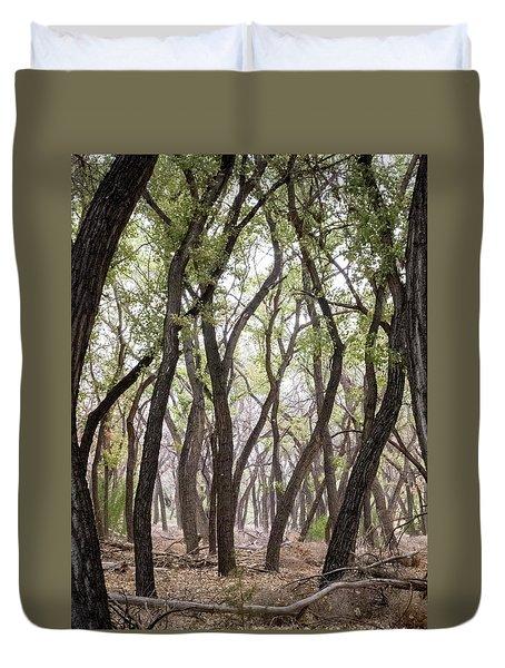 Dance Of The Trees Duvet Cover