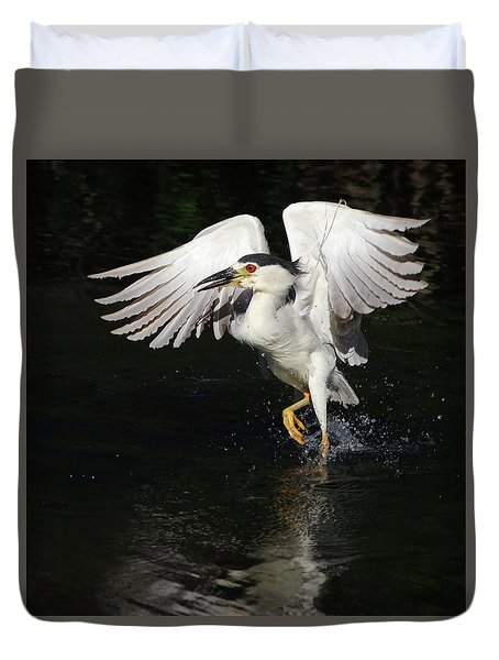 Dance On Water. Duvet Cover