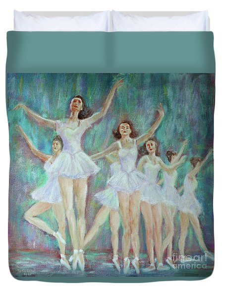 Dance Rehearsal Duvet Cover by Lyric Lucas