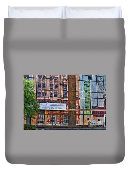 Duvet Cover featuring the photograph Dance by Skip Willits