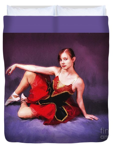 Dancer No. 6  ... Duvet Cover