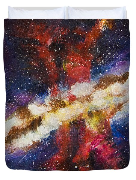 Dancers Of The Nebula Duvet Cover