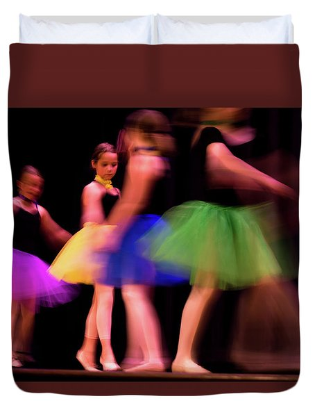 Dancers Duvet Cover
