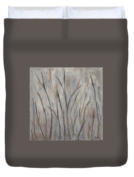 Dancing Cattails 2 Duvet Cover