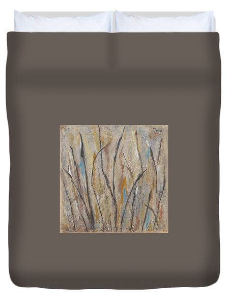 Dancing Cattails I Duvet Cover